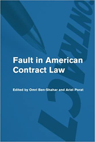 Book Fault in American Contract Law