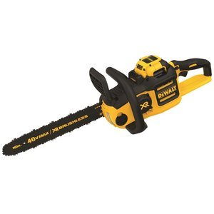 Chainsaws Products : DEWALT DCCS690H1 40V 6AH Lithium Ion XR Brushless Chainsaw, 16