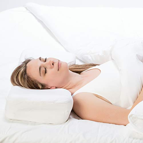 Therapeutica Pillow, Firm Orthopedic Support, Back or Side Sleeping, Petite