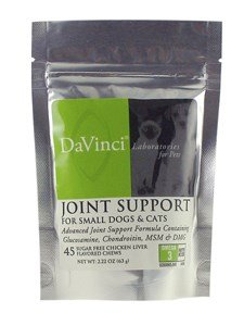 DaVinci Laboratories Joint Support (Cats & Small Dogs) 45 Soft Chews by Unknown (Joint Support Ship)