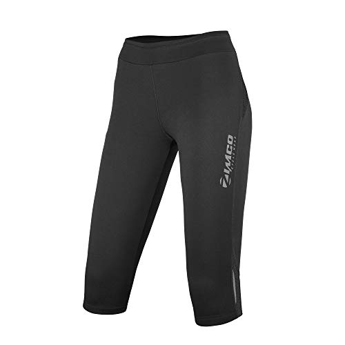 Zimco Elite Women Running Pants Skin 3/4 Pant Knicker Capri (Medium) ()