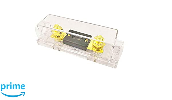 Woljay ANL-250A ANL Fuses 250Amp Gold Plated with Fuse holder