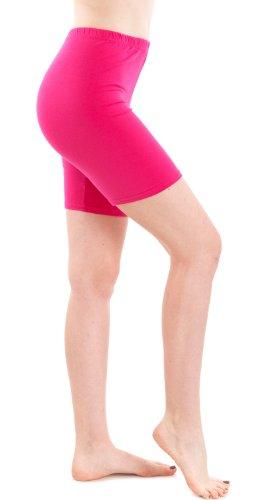 Sportivi 46 Clothes Attillata Fucsia Effect Donna Rosa Pantaloncini Basic AWqHPZB4