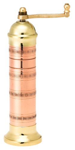 Pepper Mill Imports Atlas Salt Mill, Copper/Brass, 8