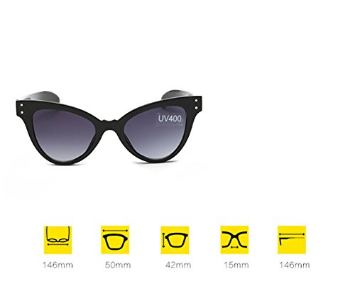 Gafas Marco Transparente la La Moda de la Sol Tendencia la Gato Personalidad de arropa Gafas de Europeas Sol Las la de Verde Ojo de Las verde transparente verde marco Película Señora RFVBNM del de Película Verde de IA5f5