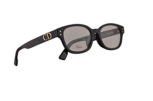 (Christian Dior DiorCD2F Eyeglasses 51-17-145 Black w/Demo Clear Lens 807 CD2F)