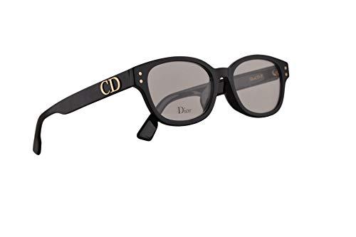 Christian Dior DiorCD2F Eyeglasses 51-17-145 Black w/Demo Clear Lens 807 CD2F