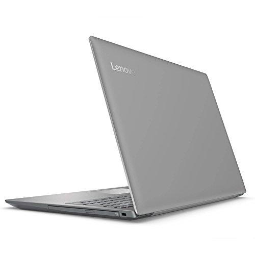 "2018 Lenovo ideapad 320 15.6"" LED-Backlit Display Laptop, Intel Celeron N3350 Dual-Core Processor, 4GB RAM, 1TB HDD, DVD-RW, WiFi, Bluetooth, HDMI, Intel HD Graphics 500, Windows 10, Platinum Gray"