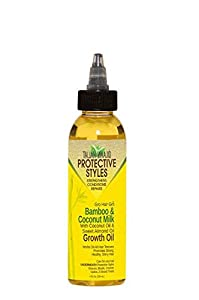 Taliah Waajid Gro Hair Gro Bamboo And Coconut Milk Growth Oil 4 oz