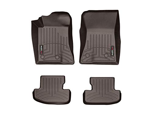 2019 Ford Mustang Shelby - WeatherTech Custom Fit FloorLiner for Mustang/Mustang Shelby GT350/GT350R - 1st & 2nd Row (Cocoa)