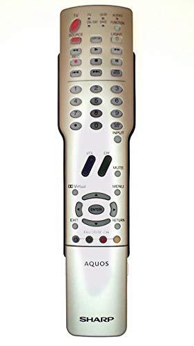Sharp Aquos LCD TV Remote Control GA384WJSA GA331WJSA Supplied models: LC-37GB5 LC-37GB5U LC-26GA5 LC-26GA5U LC-32GA5 LC-32GA5U LC-G5C26 LC-G5C26U LC-G5C32 LC-G5C32U