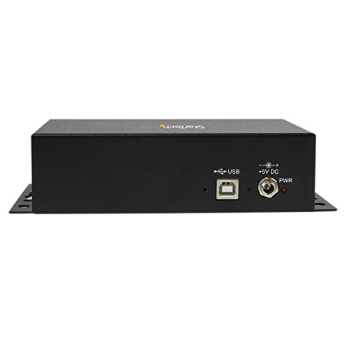 StarTech.com USB to Serial Adapter Hub – 8 Port – Industrial – Wall Mount – Din Rail – COM Port Retention – FTDI USB to RS232 by StarTech (Image #4)