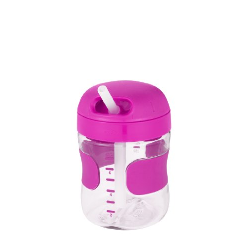 OXO Tot Twist Lid Straw Cup (7 oz.) - Pink by OXO (Image #4)