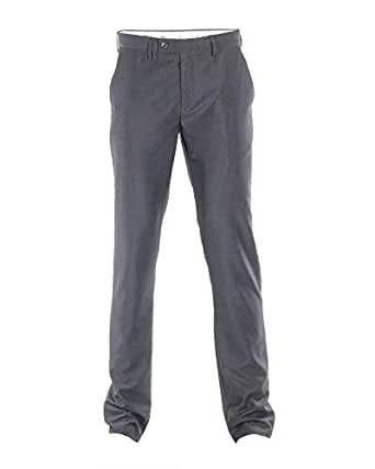 O-Code Grey Slim Fit Trousers Pant For Men