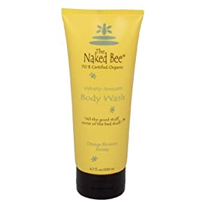 Body Wash Shower Gel - The Naked Bee - Orange Blossom Honey 200ml by The Naked Bee