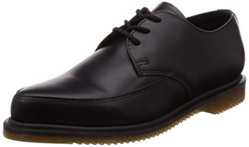 Dr Unisex Chaussures Willis martens Noir Cuir Smooth 8xwa4Sznqw