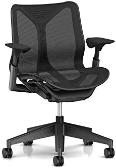 Herman Miller Cosm Chair, Low Back, Graphite