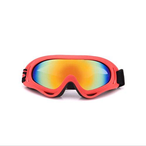 Gafas Libre a Montar Prueba Aire de al Viento explosiones esquí Prueba Moto Red de Material de PC rqvF8wrX