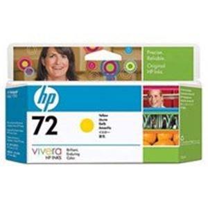 HP ヒューレットパッカード インクカートリッジ 純正 【HP72】 イエロー(黄) [簡易パッケージ品] B0789FH6CL
