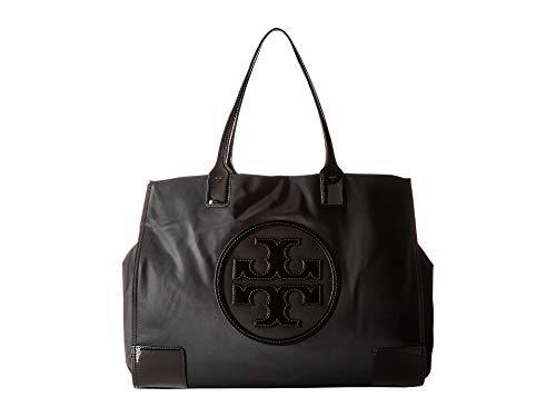 Tory Burch Beach Bag - Tory Burch Ella Patent Tote, Black
