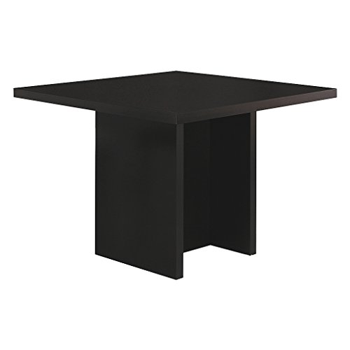 48 Inch Square Dining Table - Monarch Specialties I 1340 Cappuccino Counter Height Dining Table, 48