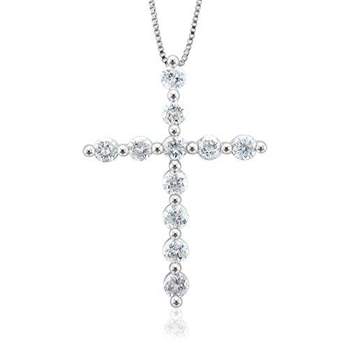 14k Gold & Diamond Cross - 8