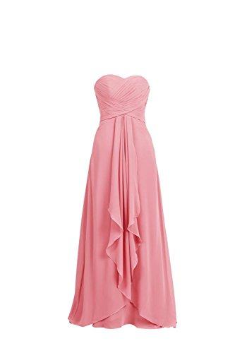 YiYaDawn Langes Sexy Rückenfreies Partykleid Abendkleid für Damen ...