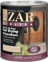 ZAR 34012 Gloss Ultra Fast Drying Exterior Polyurethane by ZAR