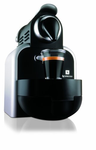 Nespresso D90/S1 Essenza Single-Serve Manual Espresso Machine, Metal