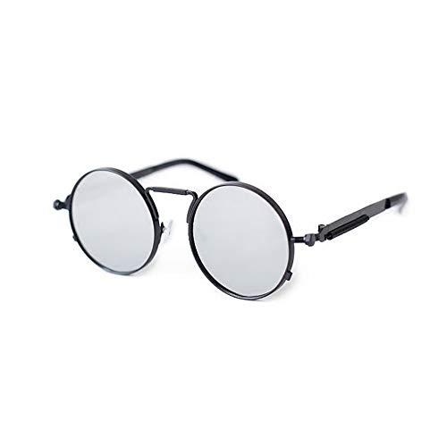 NIFG de personalizaron redondas retro Las sol gafas las gafas rYTwArqxWE