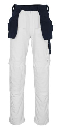 "Mascot Handwerkerhose ""Fasano"", 1 Stück, L82cm/C42, weiß/marineblau, 08331-630-61-82C42"