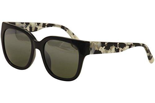 Etnia Barcelona Women's Bonavista BKWH Black/White Print Fashion Sunglasses - Etnies Sunglasses