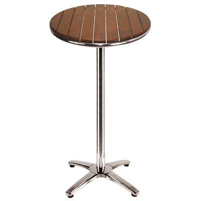 ILINEO - Table Haute Ronde - Mange-Debout Extérieur Terrasse ...
