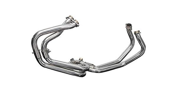 1998-2001 Delkevic Aftermarket Stainless Steel 4-1 Headers compatible with Honda VFR800 Interceptor VTEC 2002-2009