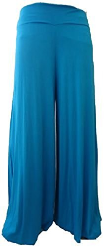 Womens Palazzo Trousers Wide Leg Flared Pants