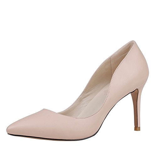 Nedal Women's D-orsay High Heel Pump Shoes NUMA9