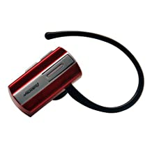 Mini Wireless Bluetooth Earpieces/ Headset/ Headphones for Google Nexus 5 - Red + Stars Strips Wristband