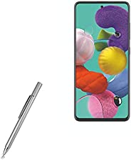 BoxWave - Caneta Stylus superprecisa para Samsung Galaxy A51 5G [caneta capacitiva FineTouch Stylus] - prata m