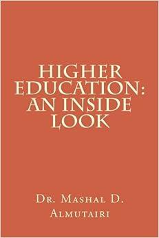 Book Higher Education: An Inside Look