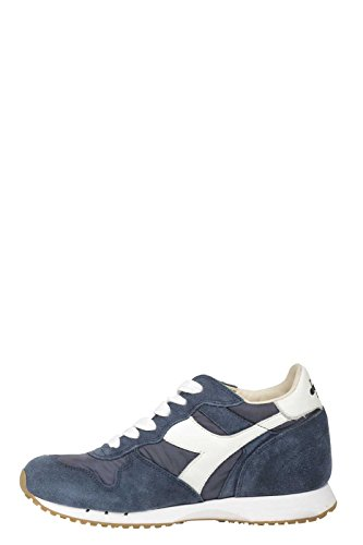 DIADORA DONNA 160445 60033 SNEAKER BLU SUEDE-NYLON FALL-WINTER 2016