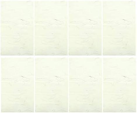 NUOBESTY 中国の書道の練習墨を書くスーの描画xuanライスペーパーグリッドなし中国の書道の筆を書く墨40ピース