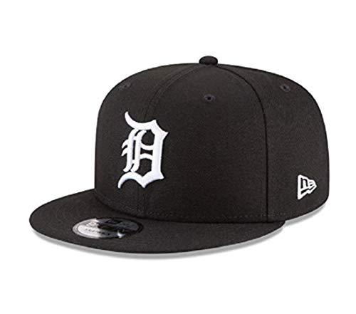 New Era Detroit Tigers MLB Basic Snapback Black White 950 Adjustable - Snap Logo New Era