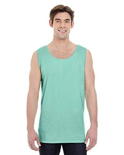 Comfort Color Brand Adult Heavyweight RS Tank-Island Reef-M