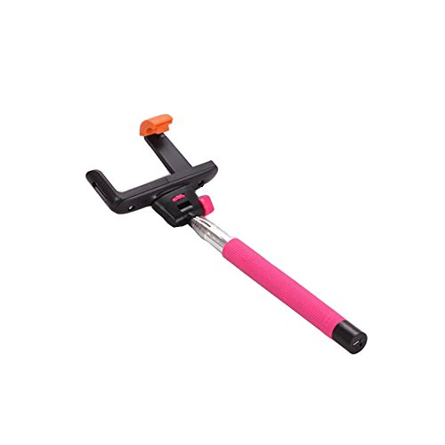 Z07-5 Wireless Monopod with Built-in Bluetooth Shutter (Pink) - 5