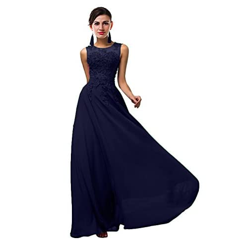 5c8bd7ba731fc VaniaDress Women Elegnat Lace Sheer Neck Bridesmaid Evening Dress ...