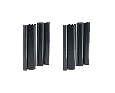 4X Quality Refill Rolls for BROTHER PC-402RF, FAX 560/575/580MC, Intellifax 565