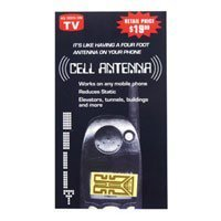 NEW AS SEEN ON TV! CELL PHONE ANTENNA BOOSTER RECEPTION