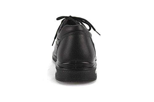 Hans Mens Wc12005 Veterschoen Antislip En Oliebestendige Werkschoenen Zwart