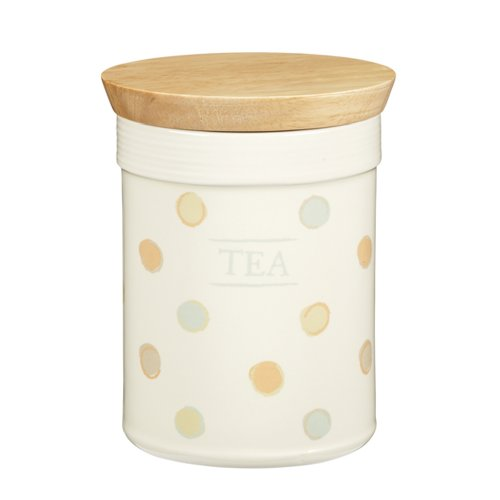 Kitchen Craft Classic Collection Ceramic Tea Storage Jar with Airtight Lid - Collection Tea Storage Jar