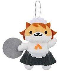 Banpresto Neko Atsume: Kitty Collector: Sassy Fran Plush Doll Key Chain Vol.6 by Banpresto